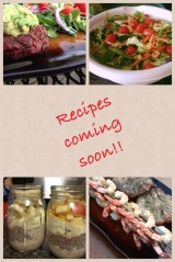 Pics of what's coming up!